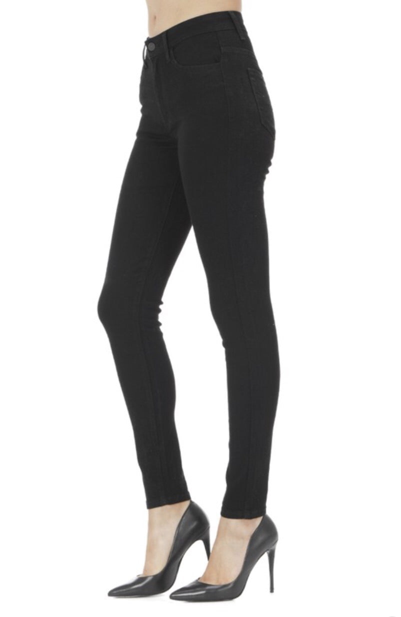 KanCan663 High Rise Super Skinny Black Jegging - Pineapple Lain Boutique