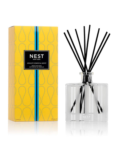 NEST Fragrances Amalfi Lemon & Mint Reed Diffuser