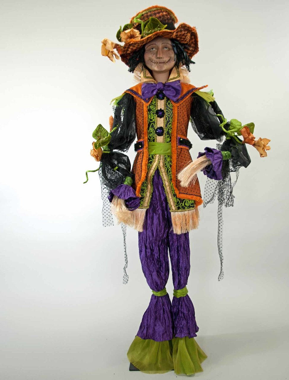 Katherine's Collection Life-Sized Scarecrow Doll