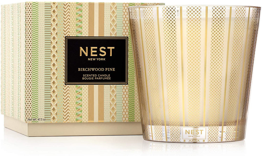 NEST Fragrances Birchwood Pine Luxury 4-Wick Candle