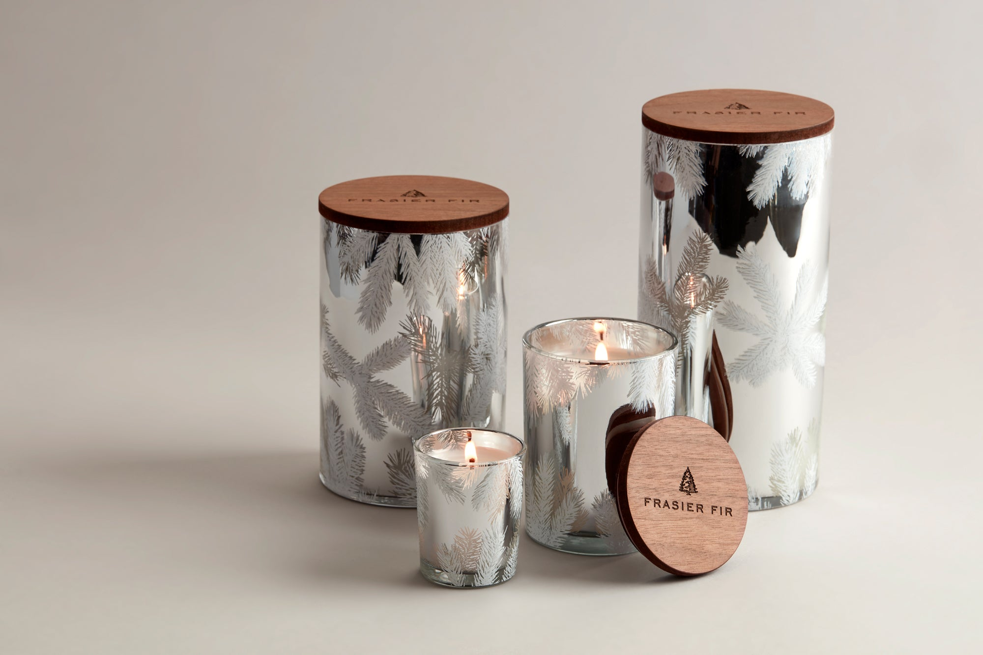 Thymes Frasier Fir Small Luminary Candle