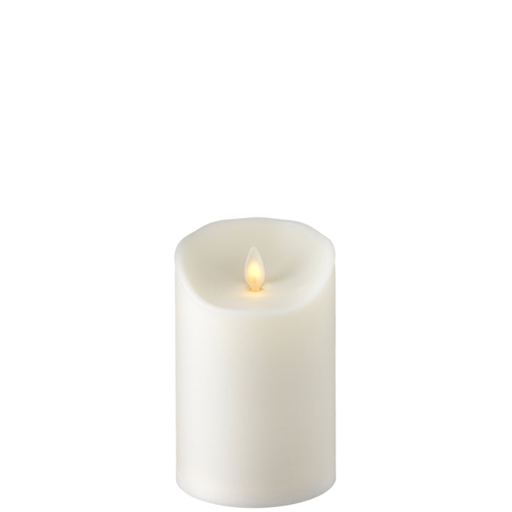 "RAZ Imports 3.5""x5"" Moving Flame Outdoor Pillar Candle"
