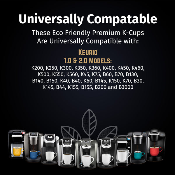 6 Pack Reusable Gold Plated Mesh Coffee Filters For Keurig Plus 2.0 & Classic 1.0 Brewers