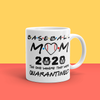 """Baseball Mom"" 11oz Ceramic Mug"