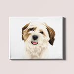 Custom Pet Sketch Canvas