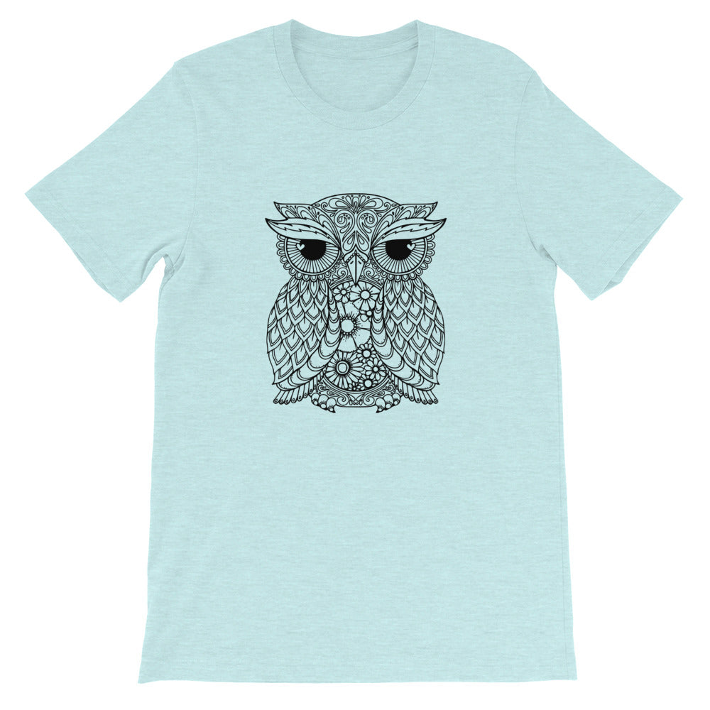 Owl Mandala T-Shirt Multiple Colour Available