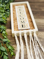 Bamboo Rectangle Wall Signs