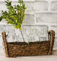 Flax Bottle Basket Set
