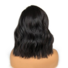 Load image into Gallery viewer, Glueless Pre-Made Fake Scalp Short Body Wavy Bob Lace Front wig
