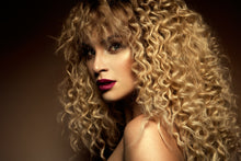 Load image into Gallery viewer, Blonde Indian Curly Hair Bundles
