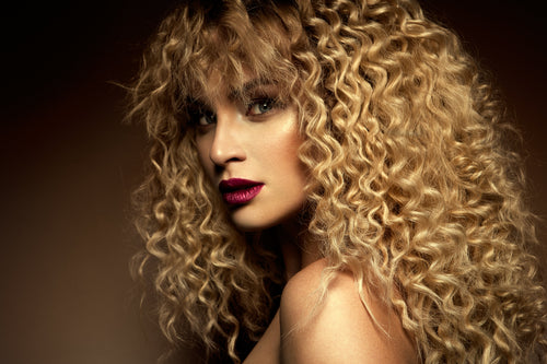 Blonde Indian Curly Hair Bundles