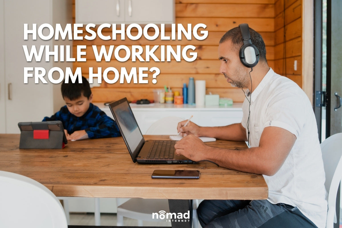 4 Best Practices to Homeschool While Working from Home