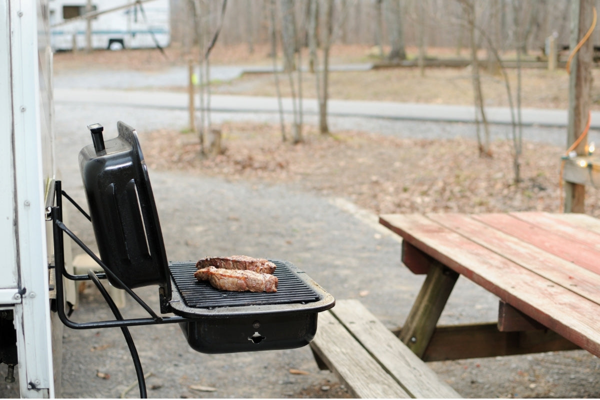 Grill for RV | Nomad Internet