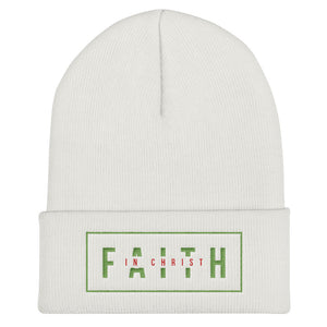 Faith In Christ - Cuffed Beanie