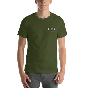 EMBROIDERED: Faith In Christ - Short-Sleeve Unisex T-Shirt