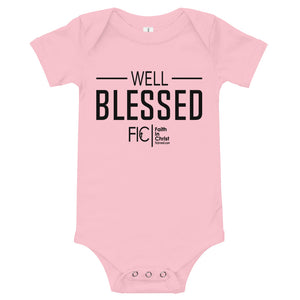 Well Blessed Baby One piece