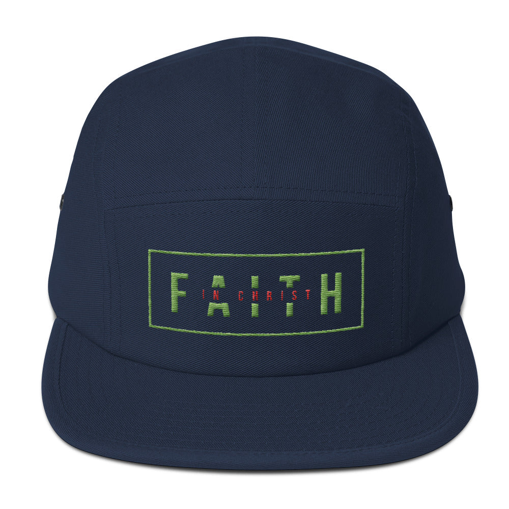 Faith In Christ - Five Panel Cap