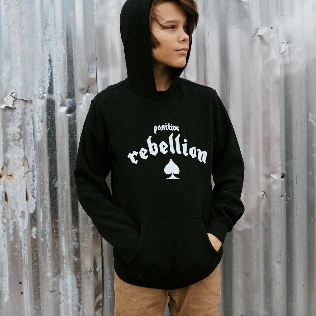 Positive Rebellion Hoodie Pullover
