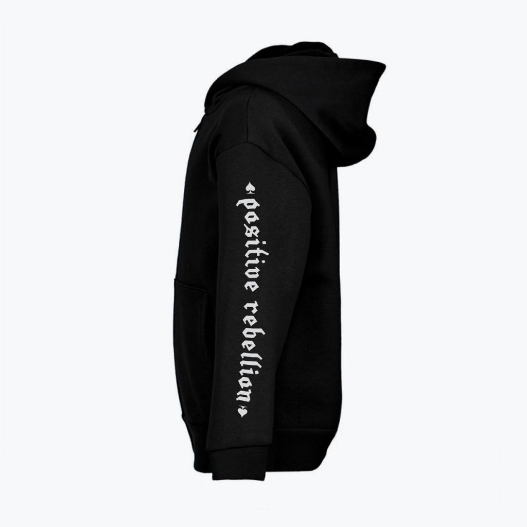 rnrk-la,Positive Rebellion Zip-up Hoodie,Hoodie.