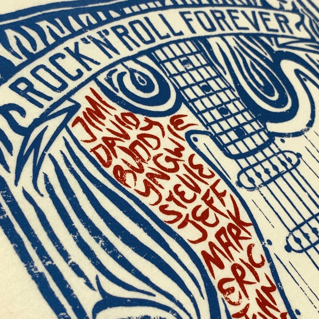 rnrk-la,Rock 'n' Roll Forever,T-Shirt.