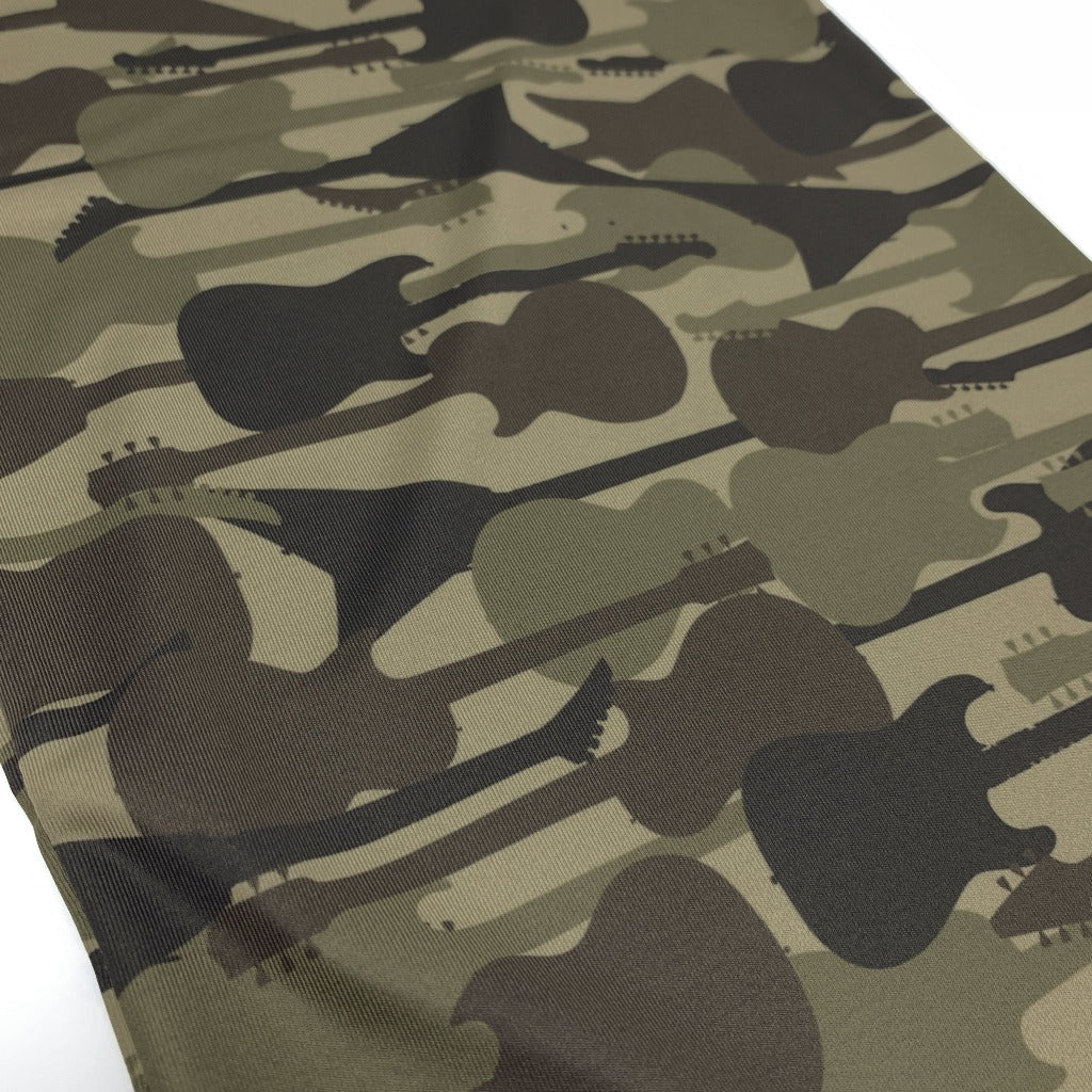 Guitar Camo Neck Gaiter