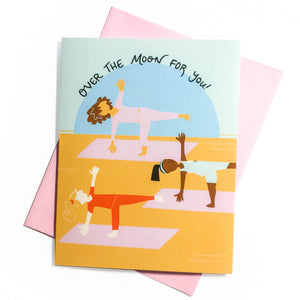 Over the Half Moon Card