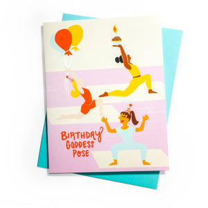 Birthday Goddess Card