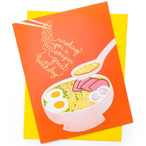 Soup-er Birthday Card