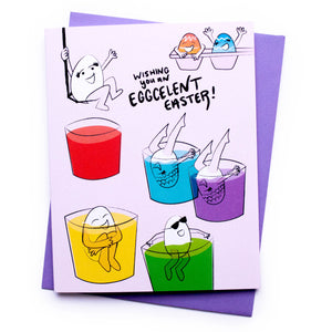 Eggcelent Easter Card