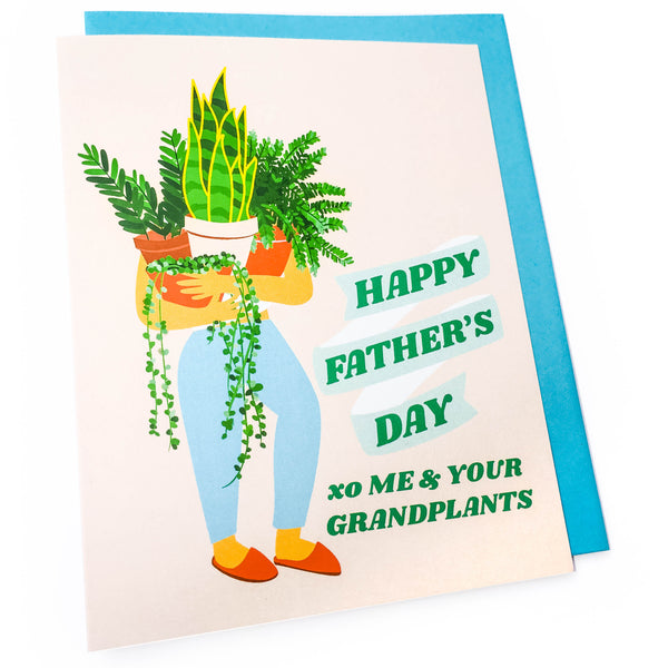 Plant Father's Day Card