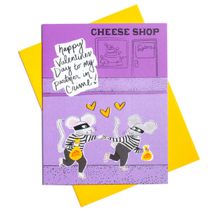 Partner in Crime Valentines Day Card