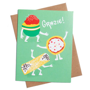 Grazie! Thank You Card