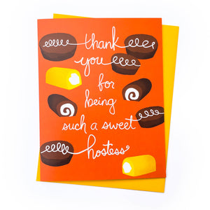 Sweet Hostess Thank You Card