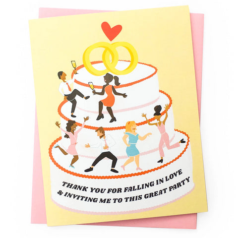 Great Party Wedding Card