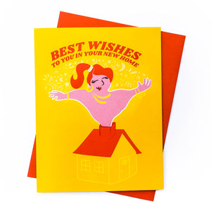 Best Wishes Housewarming Card