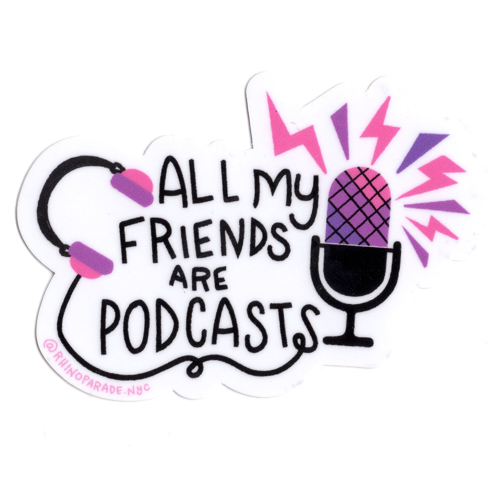 Podcast BFF Sticker