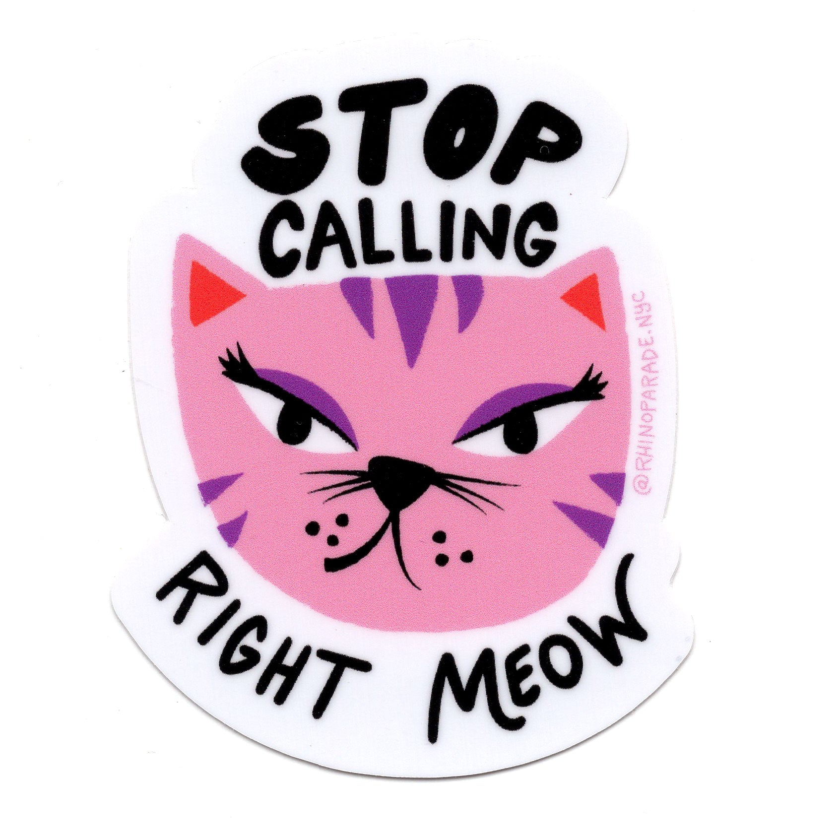 Stop Catcalling Sticker