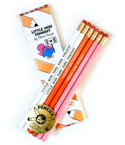 Little Miss Feminist Pencil Set