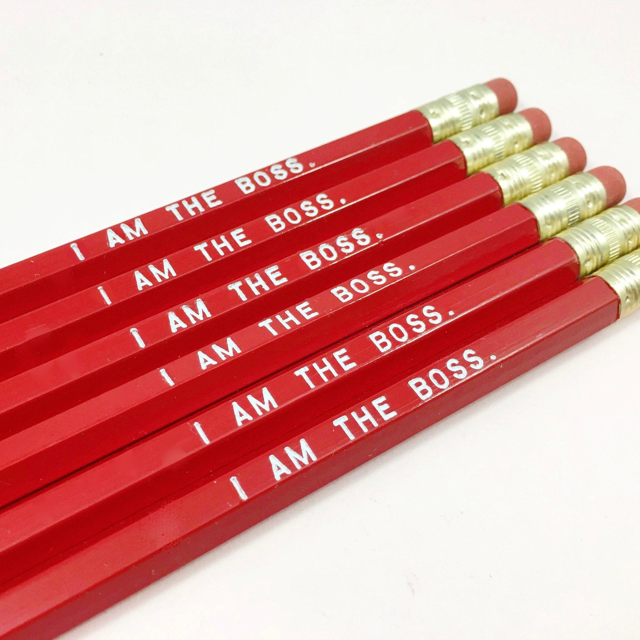 I AM THE BOSS Pencil Set