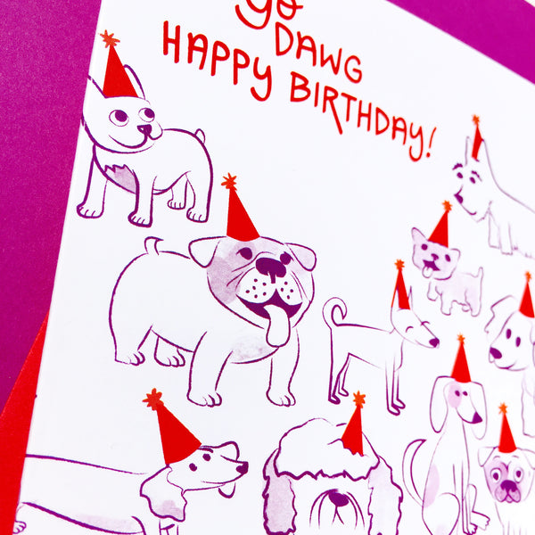 Yo Dawg Happy Birthday Card