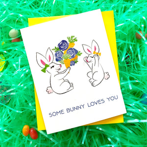 Some Bunny Loves You Card (Style A)