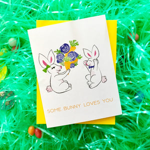 Some Bunny Loves You Card (Style B)