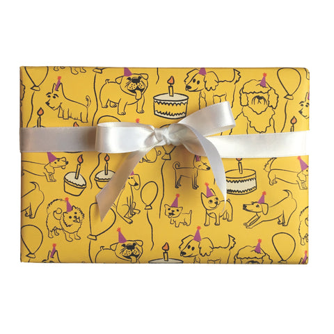 Party Dawg Gift Wrap