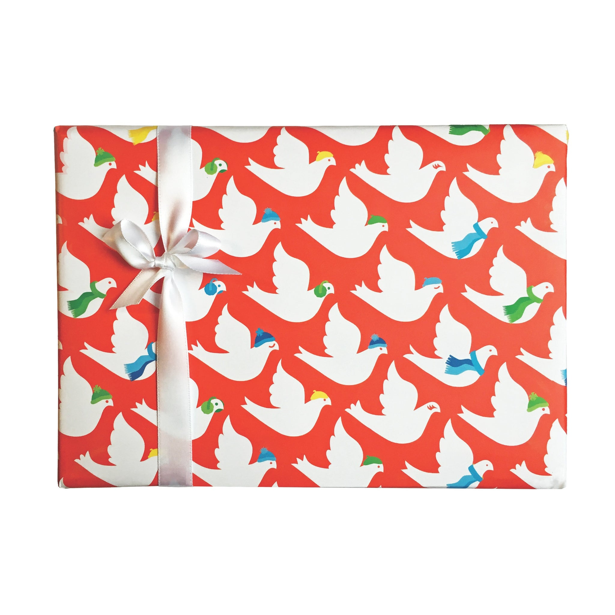 Winter Dove Gift Wrap