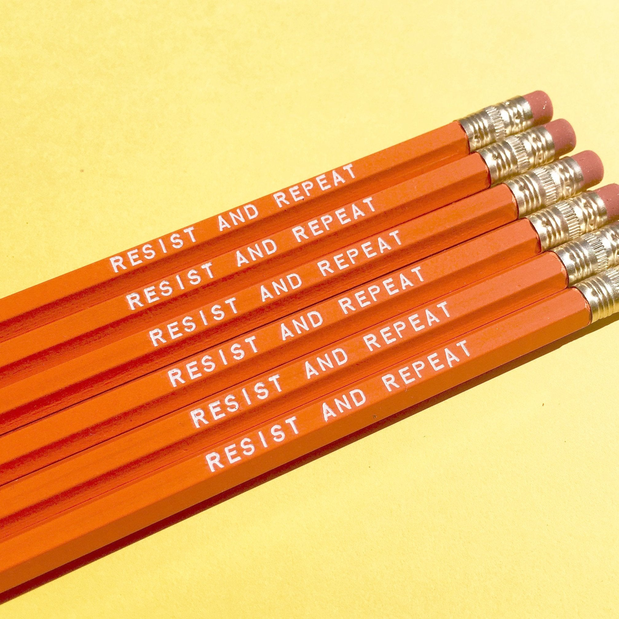 RESIST AND REPEAT Pencil Set