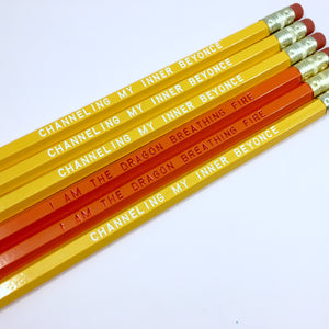 Beyonce Fan Pencil Set