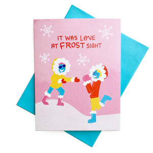 Love at Frost Sight Card