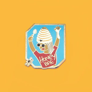 Honey Bae Enamel Pin