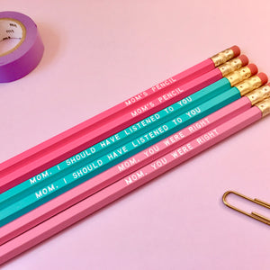 For Mom Pencil Set