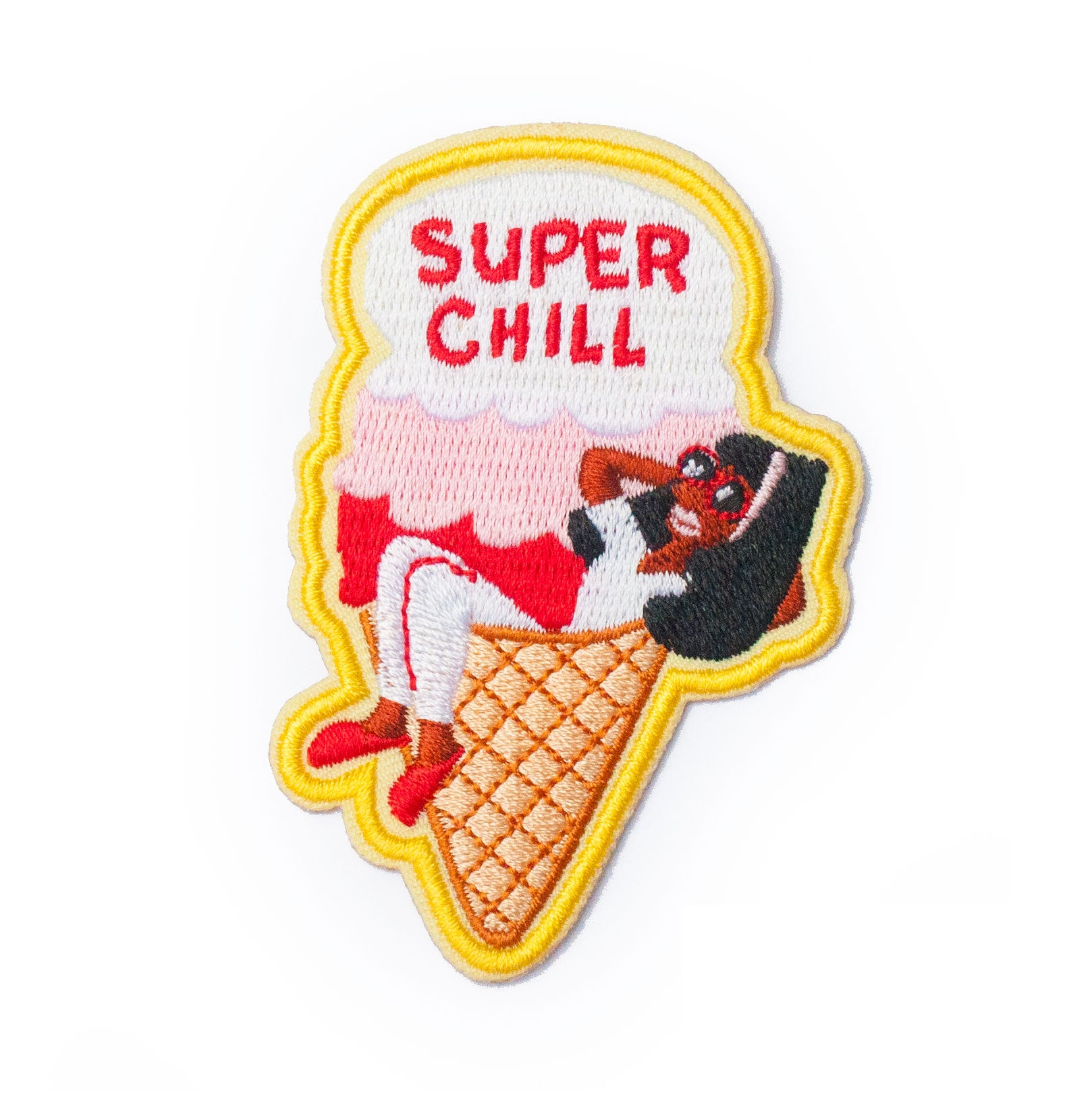 Super Chill Iron-On Patch